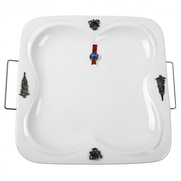 Buy Plate with Metal Stand online