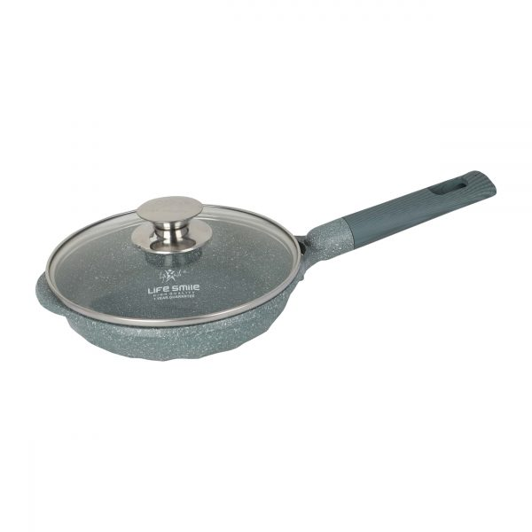 Buy Fry Pan With Lid – Blue online