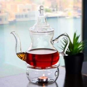 Buy Glass Teapot with Heater Set online